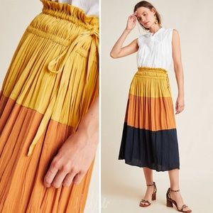 Merrigan Tiered Midi Skirt